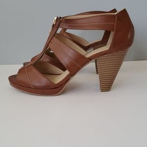 Chinese Laundry Brown Willow High Heel Sandals 10